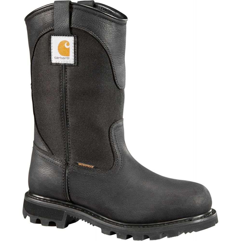 カーハート Carhartt レディース ブーツ ウェリントンブーツ ワークブーツ シューズ・靴【Traditional 10'' Wellington Waterproof Soft Toe Work Boots】Black