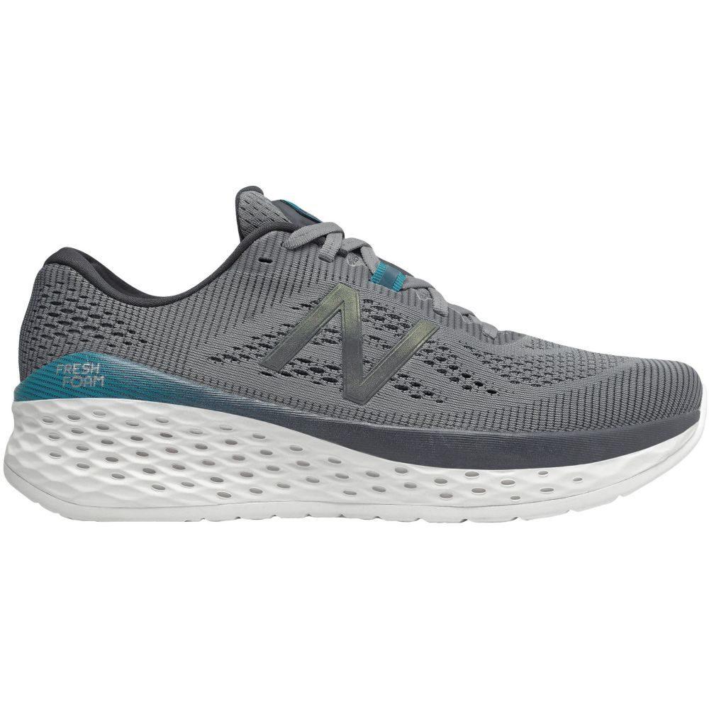 ニューバランス New Balance メンズ ランニング・ウォーキング シューズ・靴【Fresh Foam More Running Shoes】Grey/Blue