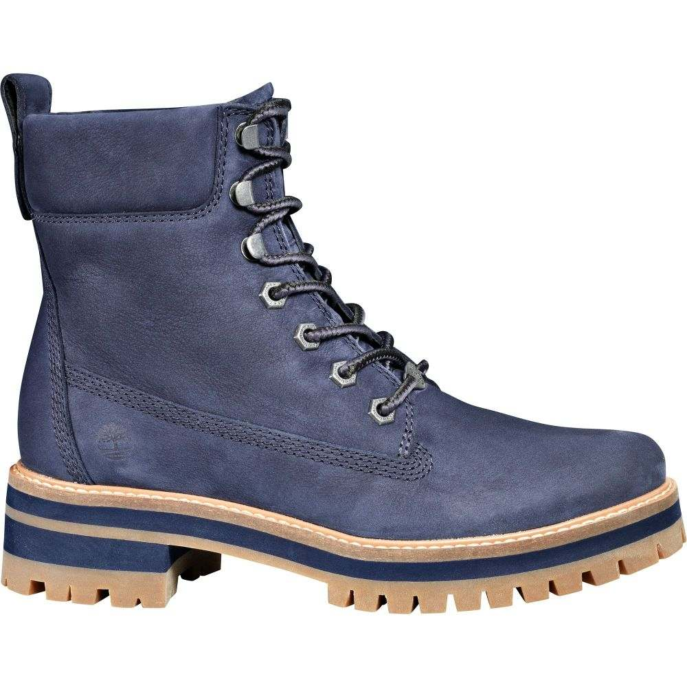 ティンバーランド Timberland レディース ブーツ シューズ・靴【Courmayeur Valley 6'' Casual Boots】Navy