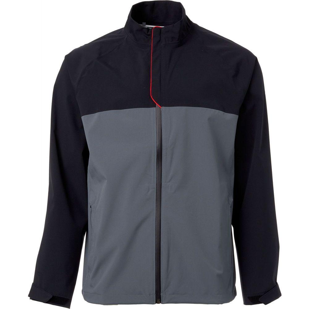 アンダーアーマー Under Armour メンズ ゴルフ レインジャケット アウター【Elements Golf Rain Jacket】Black/Pitch Gray