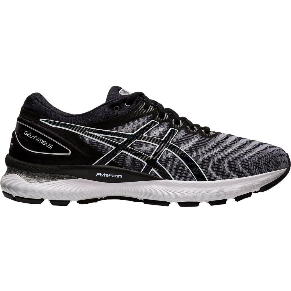 アシックス ASICS メンズ ランニング・ウォーキング シューズ・靴【GEL-Nimbus 22 Running Shoes】White/Black