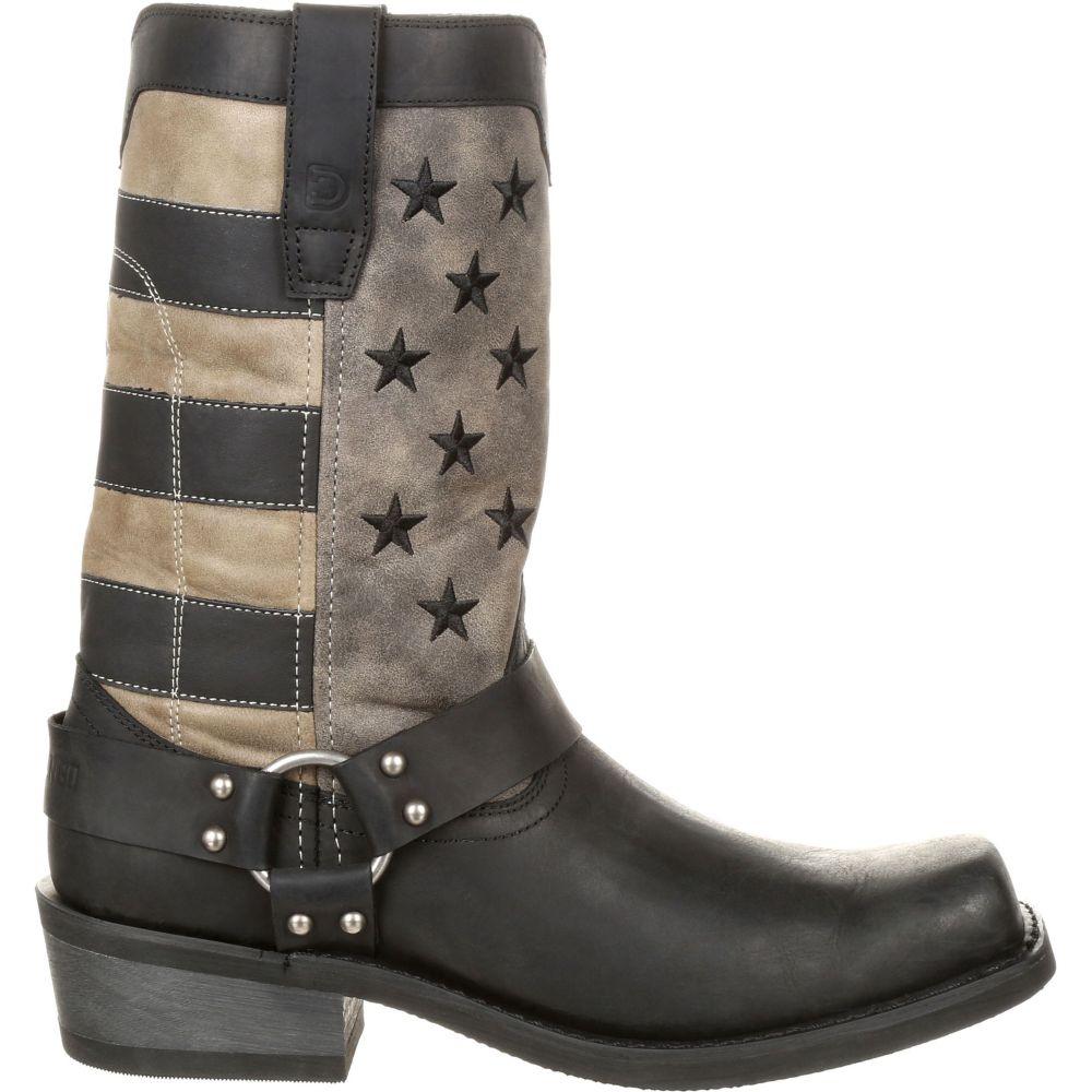 【限定品】 デュランゴ Durango メンズ ブーツ ウェスタンブーツ シューズ・靴【Black Flag Harness Western Boots】Black/Charcoal, 快適いぬ生活 06195855