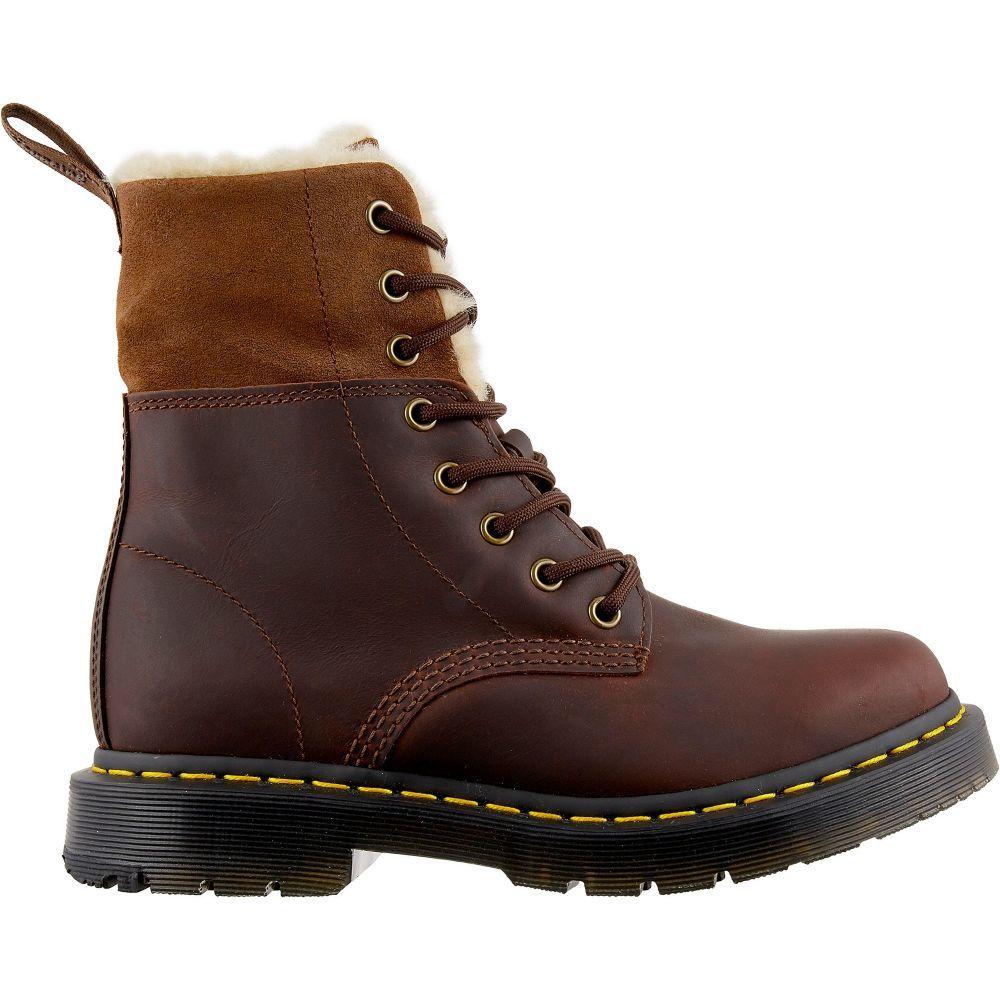 ドクターマーチン Dr. Martens レディース ブーツ ウインターブーツ シューズ・靴【1460 Kolbert WinterGrip Winter Boots】Dark Brown