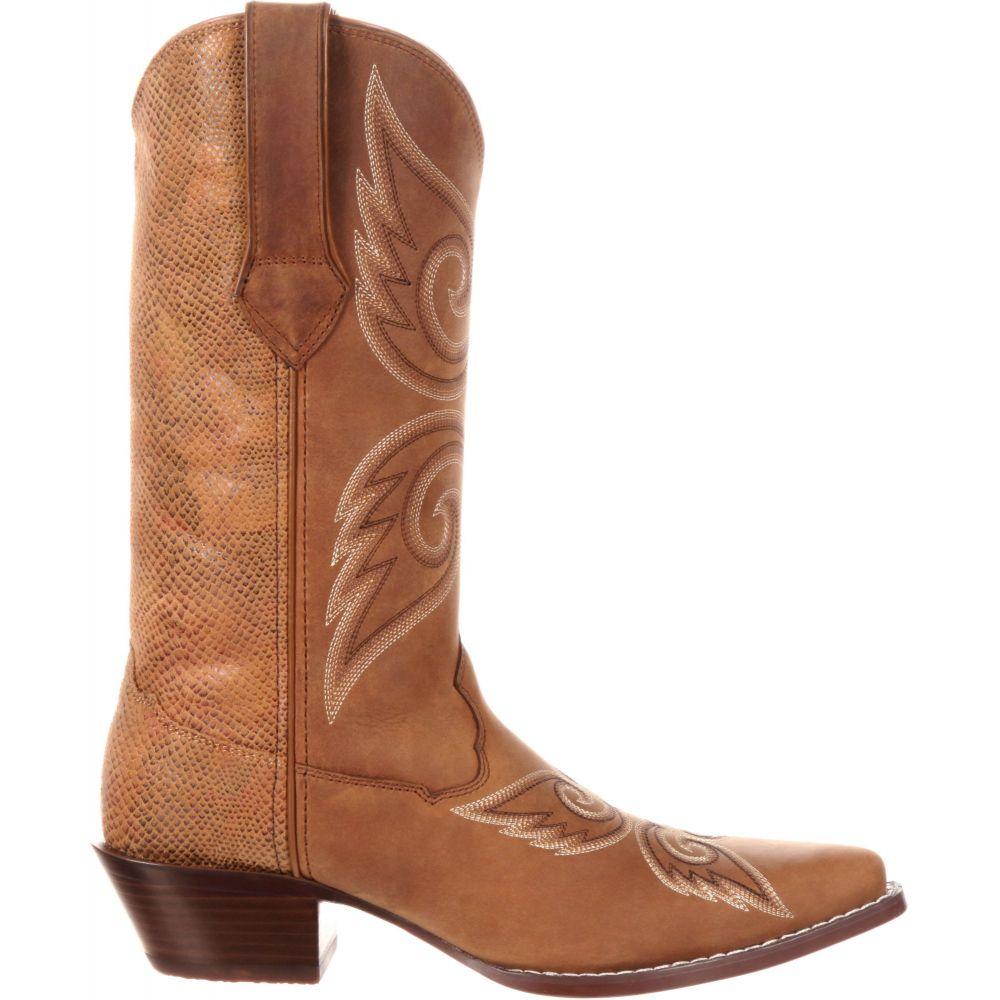 デュランゴ Durango レディース ブーツ ウェスタンブーツ シューズ・靴【Crush Tan Snake Western Boots】Tan Snake