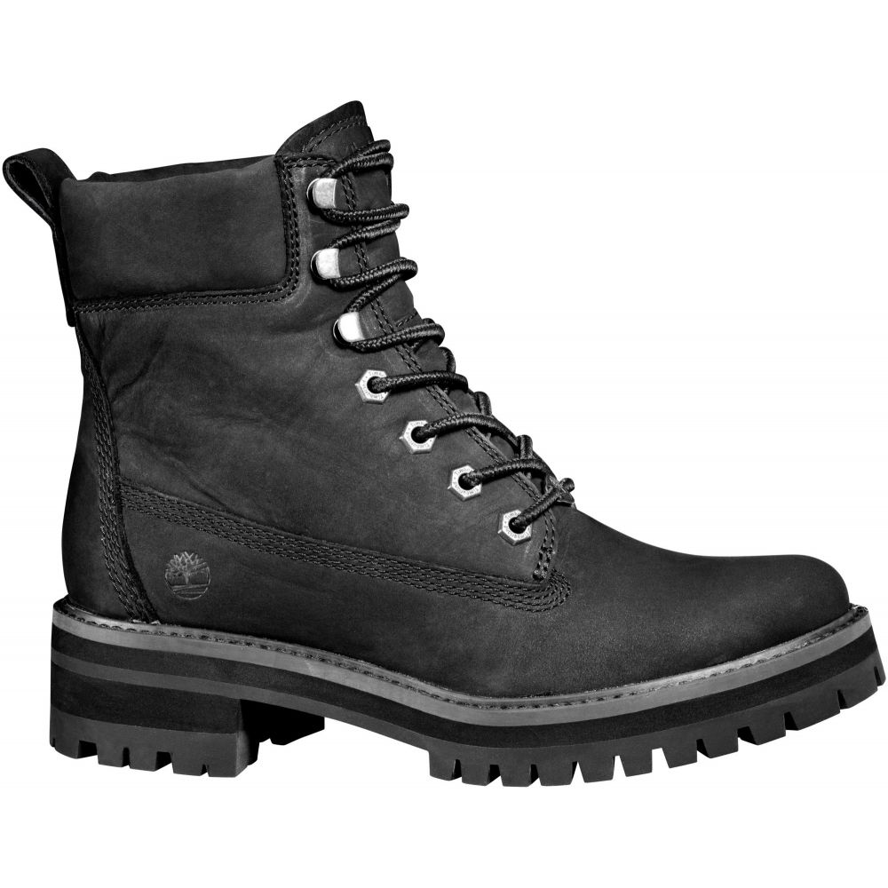 ティンバーランド Timberland レディース ブーツ シューズ・靴【Courmayeur Valley 6'' Casual Boots】Black