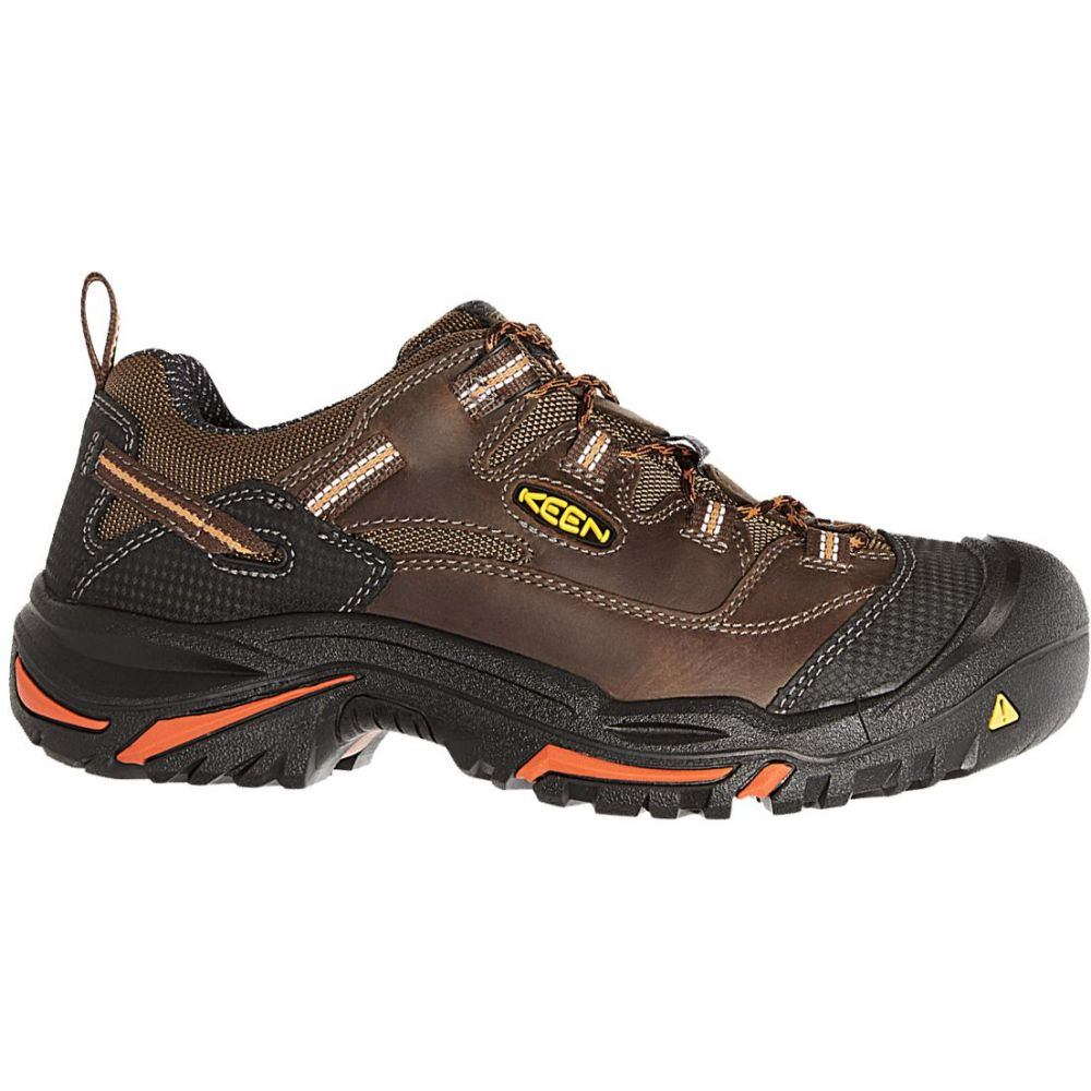 キーン Keen メンズ シューズ・靴 【KEEN Braddock Low Work Shoes】Brown