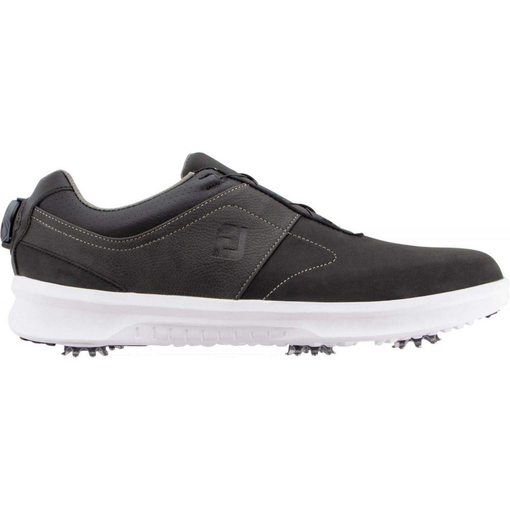 フットジョイ FootJoy メンズ ゴルフ シューズ・靴【Contour BOA Golf Shoes】Black/Charcoal