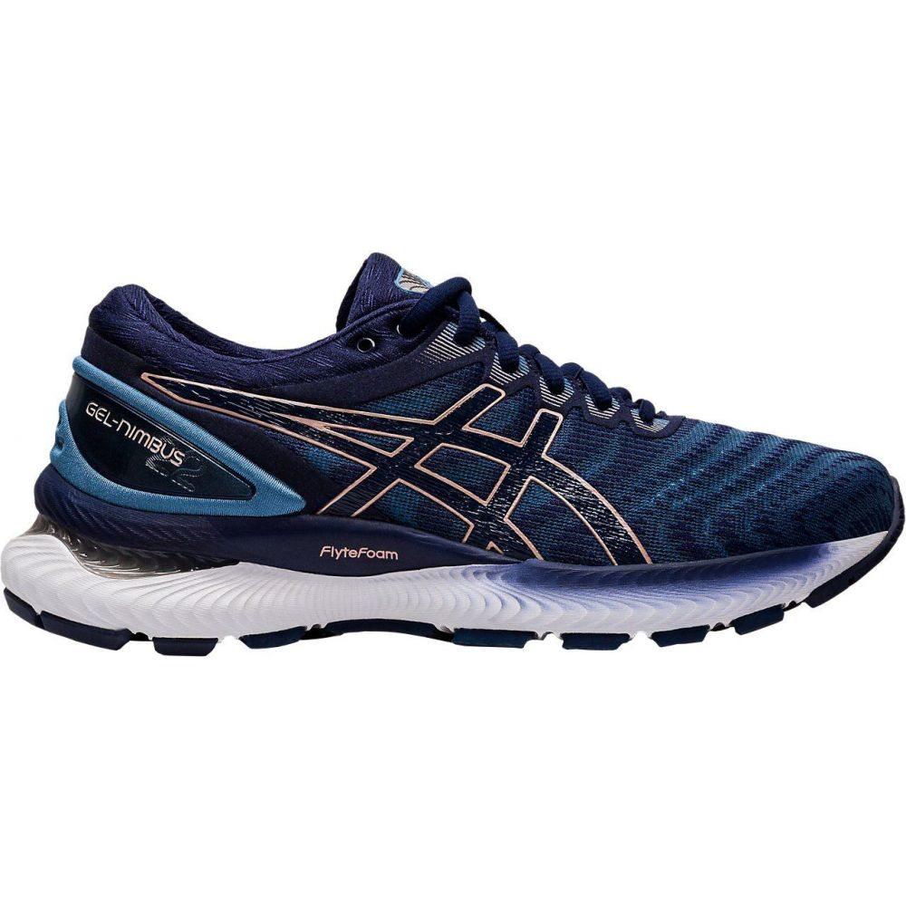 アシックス ASICS レディース ランニング・ウォーキング シューズ・靴【GEL-Nimbus 22 Running Shoes】Peacoat