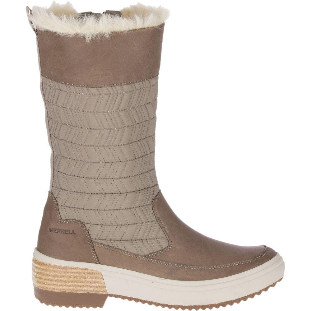 メレル Merrell レディース ブーツ シューズ・靴【Haven Pull On Polar Waterproof Boots】Brindle