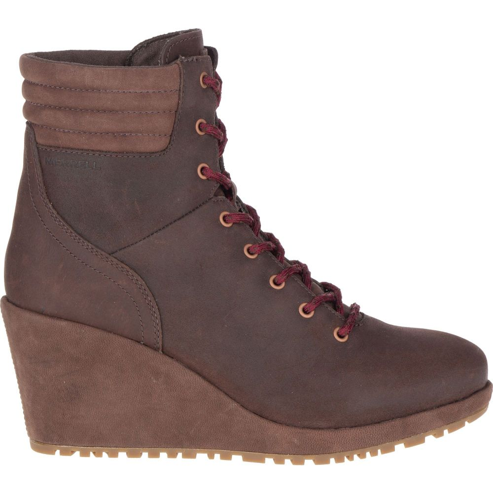 メレル Merrell レディース ブーツ ウェッジソール シューズ・靴【Tremblant Wedge Waterproof Boots】Espresso