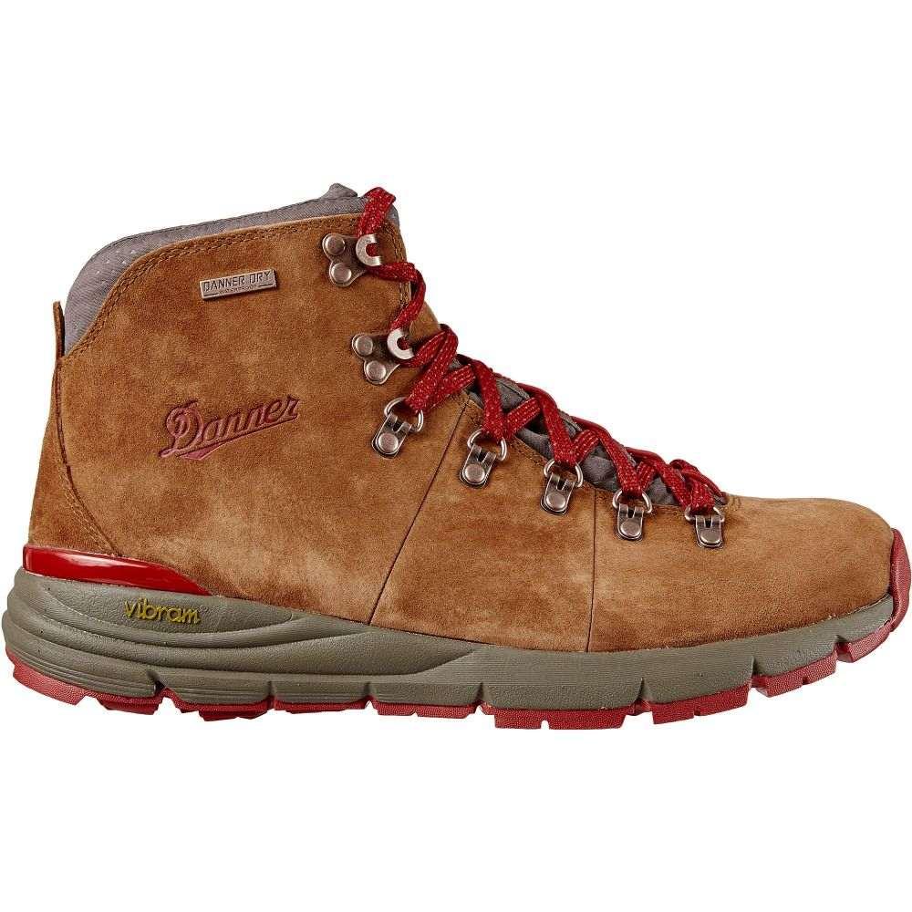 ダナー Danner メンズ ハイキング・登山 ブーツ シューズ・靴【Mountain 600 4.5'' Suede Waterproof Hiking Boots】Brown/Red