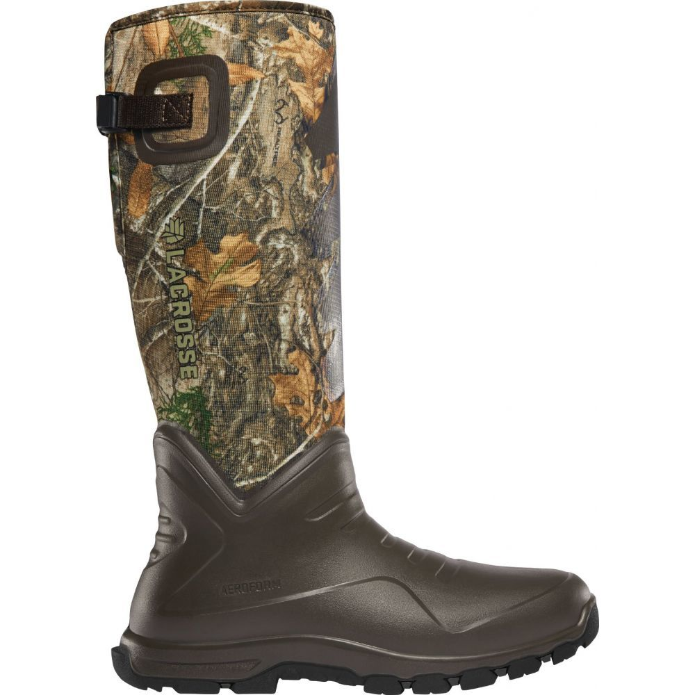ラクロッセ LaCrosse メンズ ブーツ シューズ・靴【AeroHead Sport 16'' Realtree Edge 3.5mm Waterproof Hunting Boots】Real Tree Edge