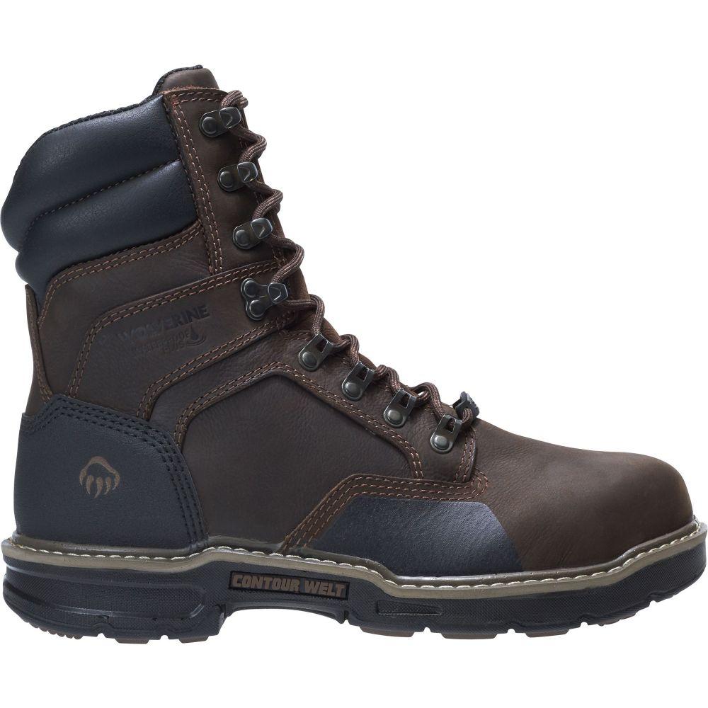 ウルヴァリン Wolverine メンズ ブーツ ワークブーツ シューズ・靴【Bandit 8'' 600g Waterproof Composite Toe Work Boots】Dark Brown