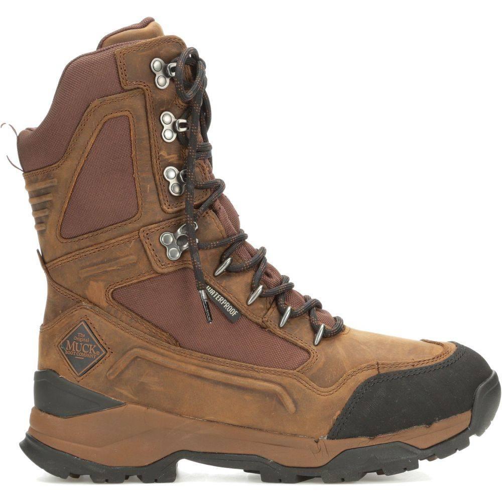 マックブーツ Muck Boots メンズ ブーツ フィールドブーツ シューズ・靴【Summit 10'' 800g Waterproof Field Hunting Boots】Brown/Black