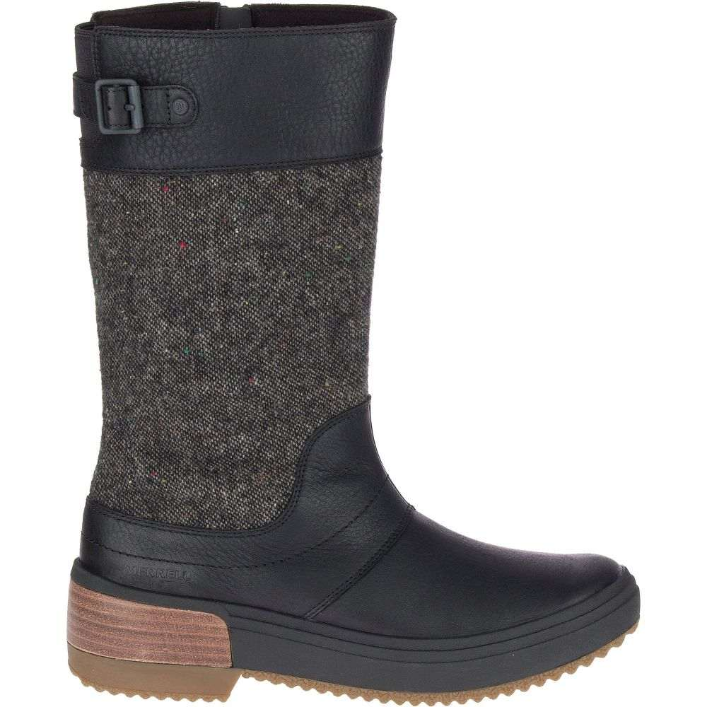 メレル Merrell レディース ブーツ シューズ・靴【Haven Tall Buckle Waterproof Boots】Black