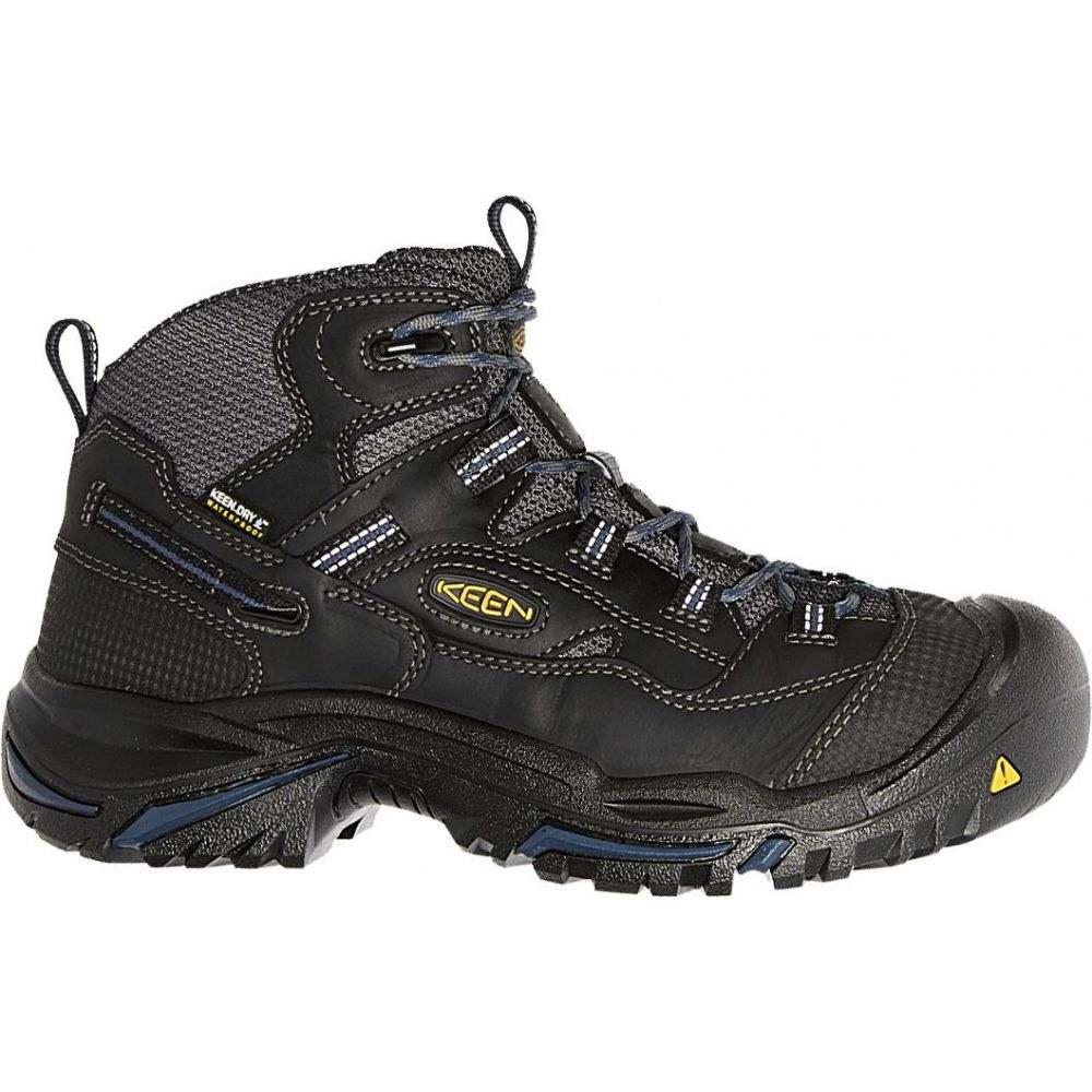 キーン Keen メンズ ブーツ ワークブーツ シューズ・靴【KEEN Braddock Mid Waterproof Work Boots】Black