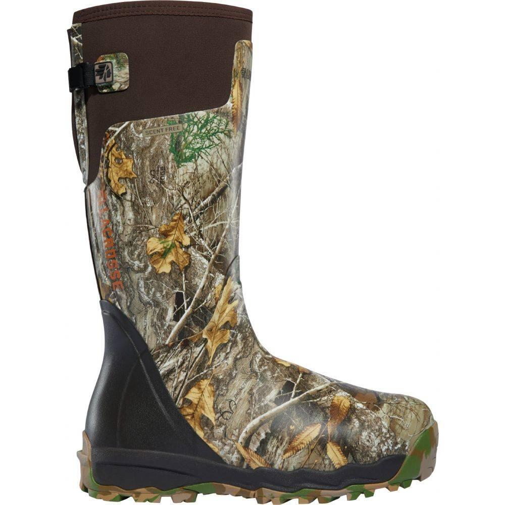 ラクロッセ LaCrosse メンズ ブーツ シューズ・靴【Alphaburly Pro 18'' Realtree Edge Rubber Hunting Boots】Real Tree Edge