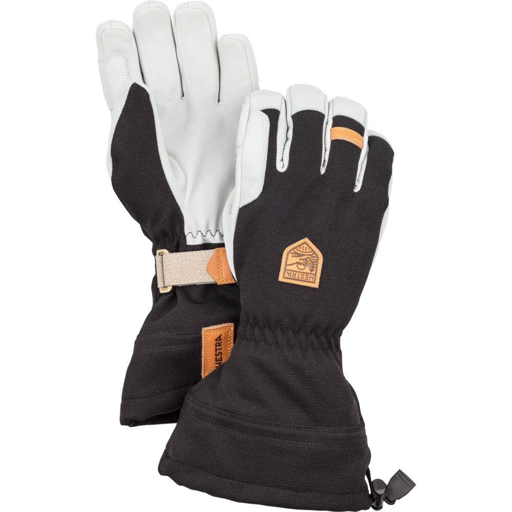 ヘスタ Hestra メンズ 手袋・グローブ 【Army Leather Patrol Gauntlet Gloves】Black