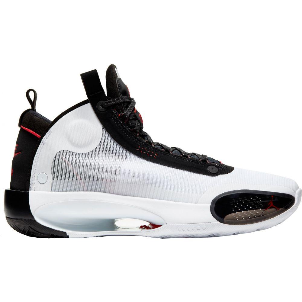 ナイキ ジョーダン Jordan メンズ バスケットボール シューズ・靴【Air 34 Basketball Shoes】White/University Red/Black