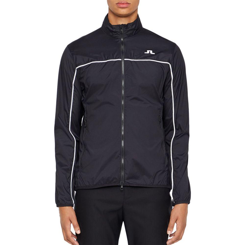 ジェイ リンドバーグ J.Lindeberg メンズ ゴルフ ウィンドブレーカー ジャケット アウター【Liam Wind Pro Golf Jacket】Black