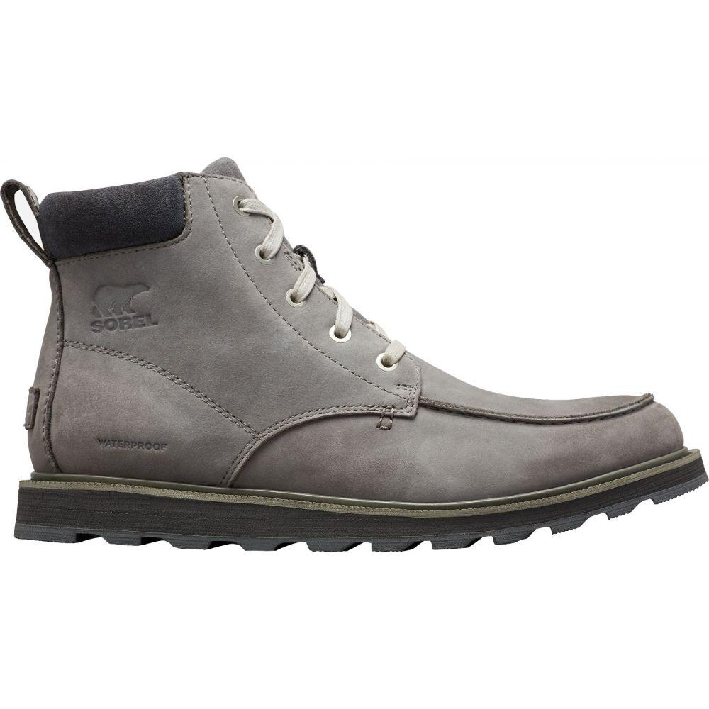 ソレル SOREL メンズ ブーツ モックトゥ シューズ・靴【Madson Moc Toe Waterproof Casual Boots】Quarry