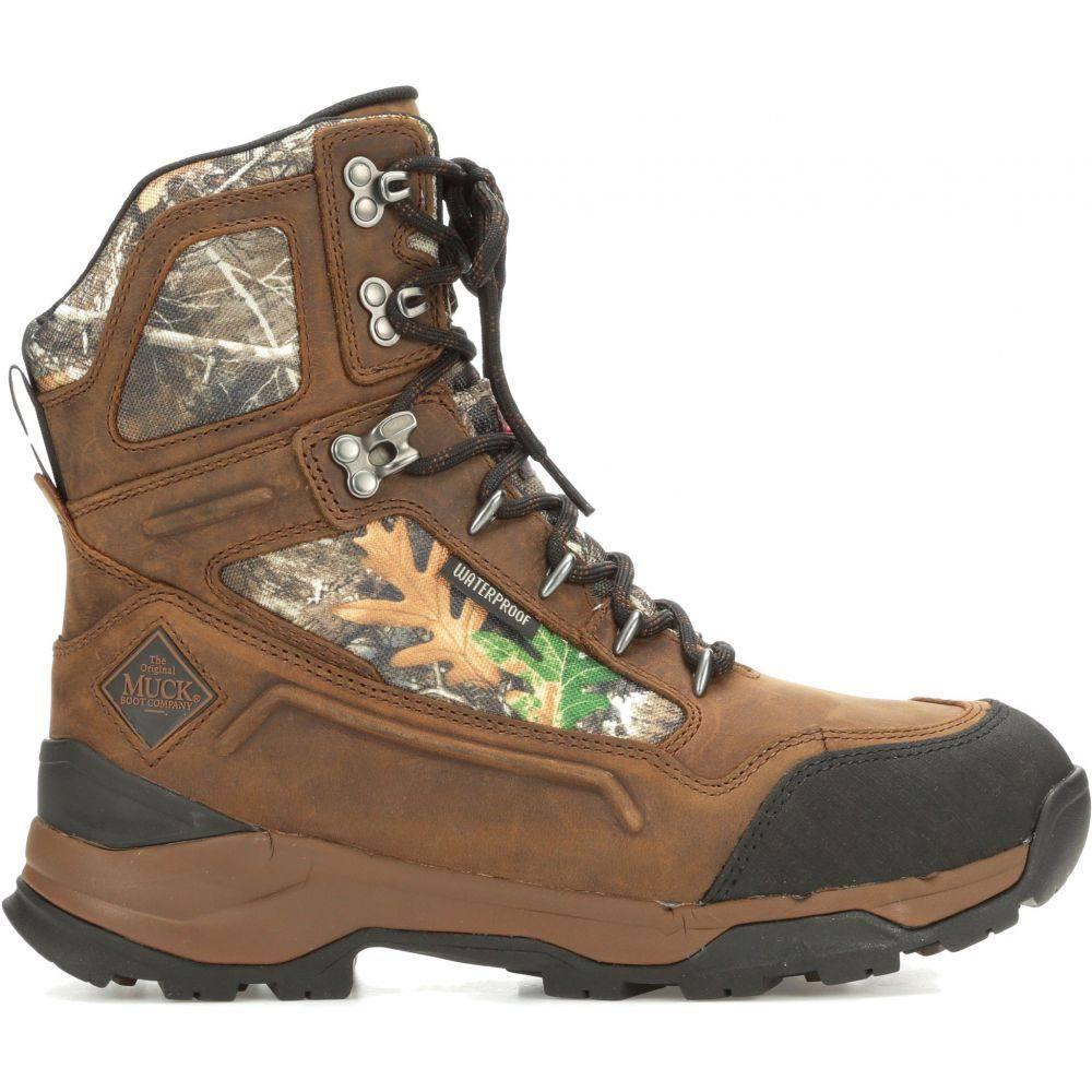 マックブーツ Muck Boots メンズ ブーツ フィールドブーツ シューズ・靴【Summit 10'' Realtree 800g Waterproof Field Hunting Boots】Brown/Realtree