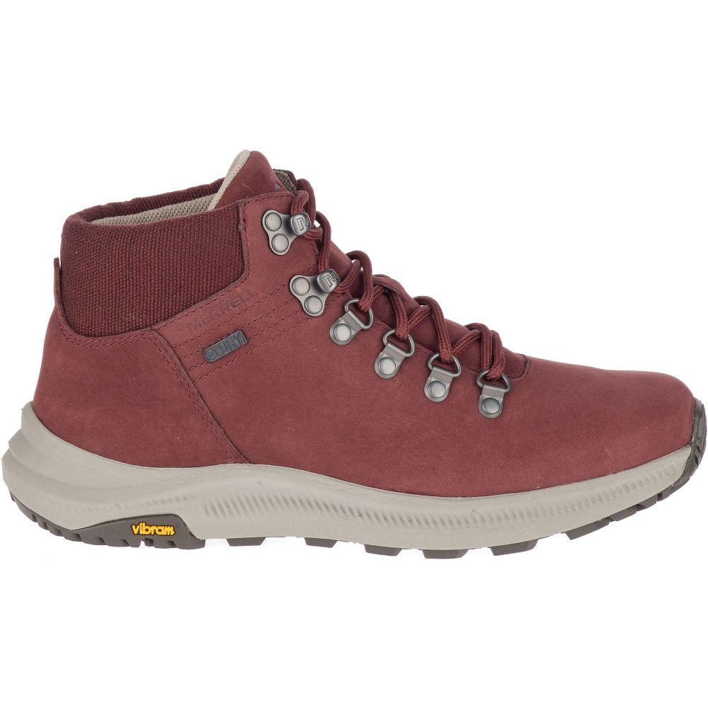 メレル Merrell レディース ハイキング・登山 ブーツ シューズ・靴【Ontario Mid Waterproof Hiking Boots】Raisin
