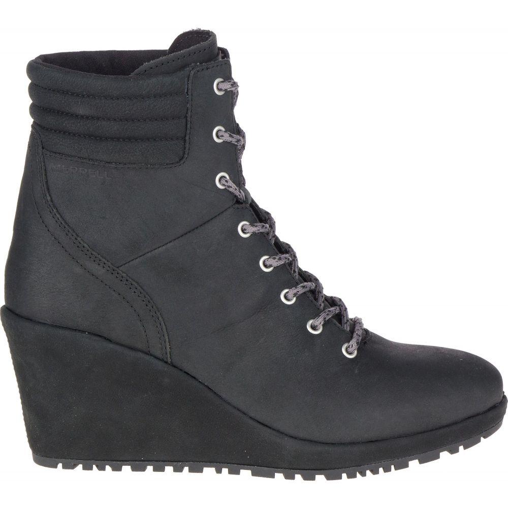 メレル Merrell レディース ブーツ ウェッジソール シューズ・靴【Tremblant Wedge Waterproof Boots】Black