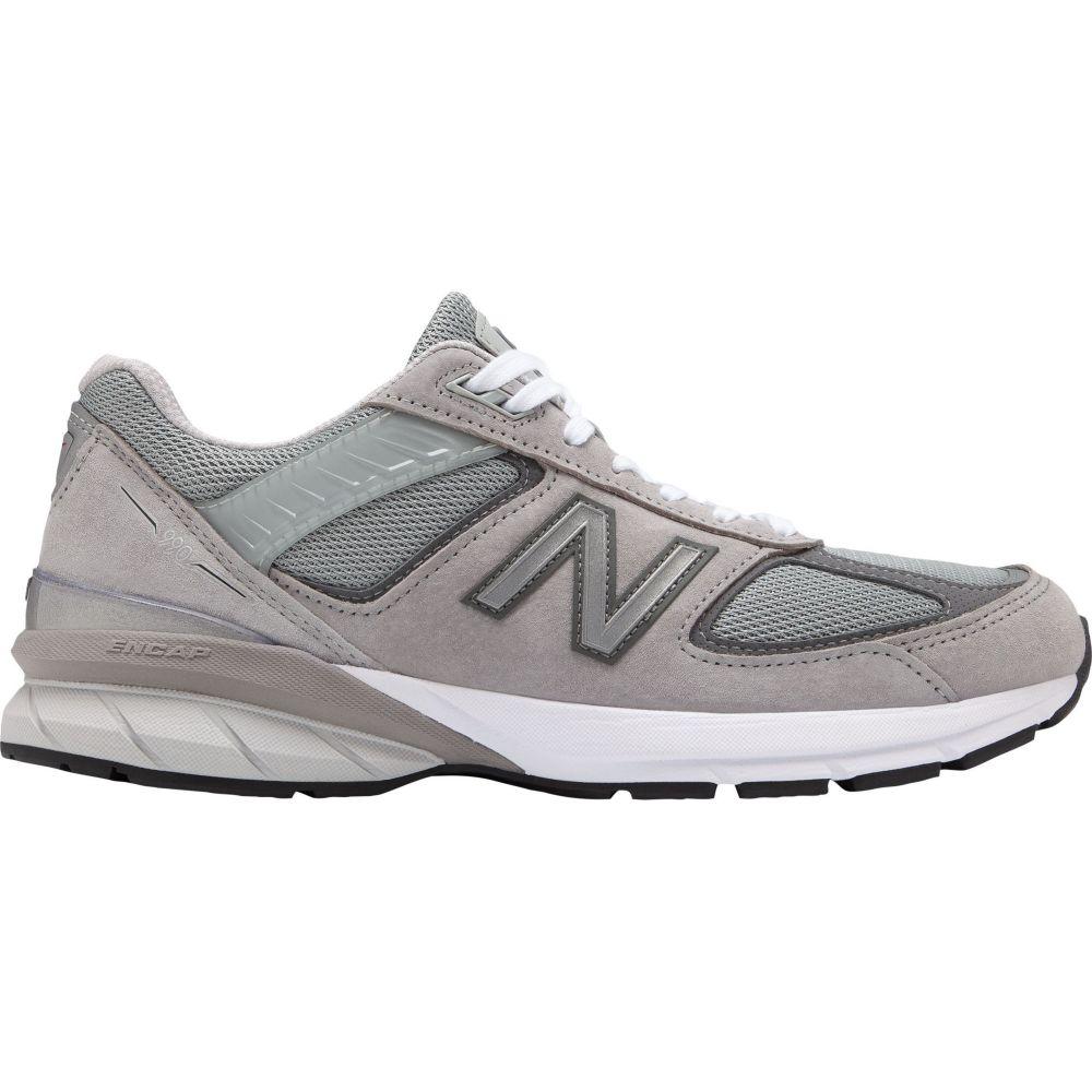 ニューバランス New Balance メンズ スニーカー シューズ・靴【M990V5 Shoes】Grey/White