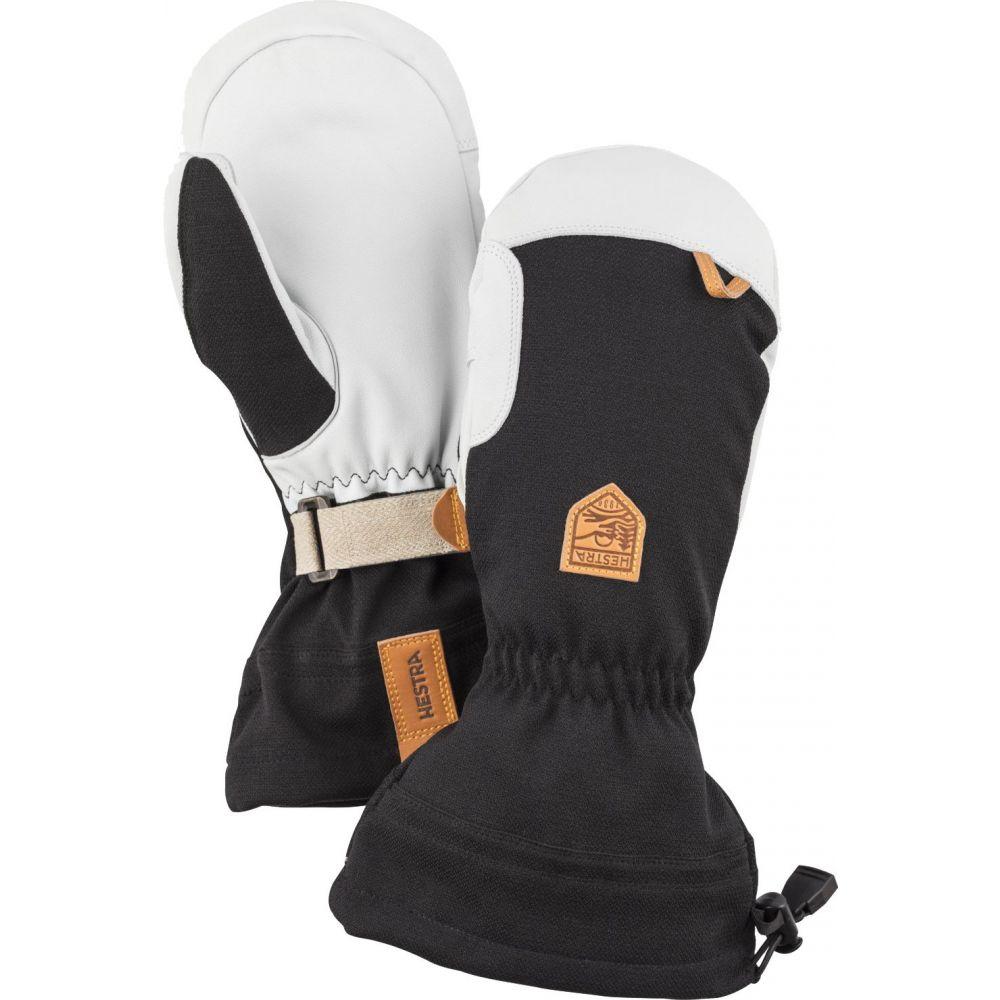 ヘスタ Hestra ユニセックス 手袋・グローブ 【Army Leather Patrol Gauntlet Mittens】Black