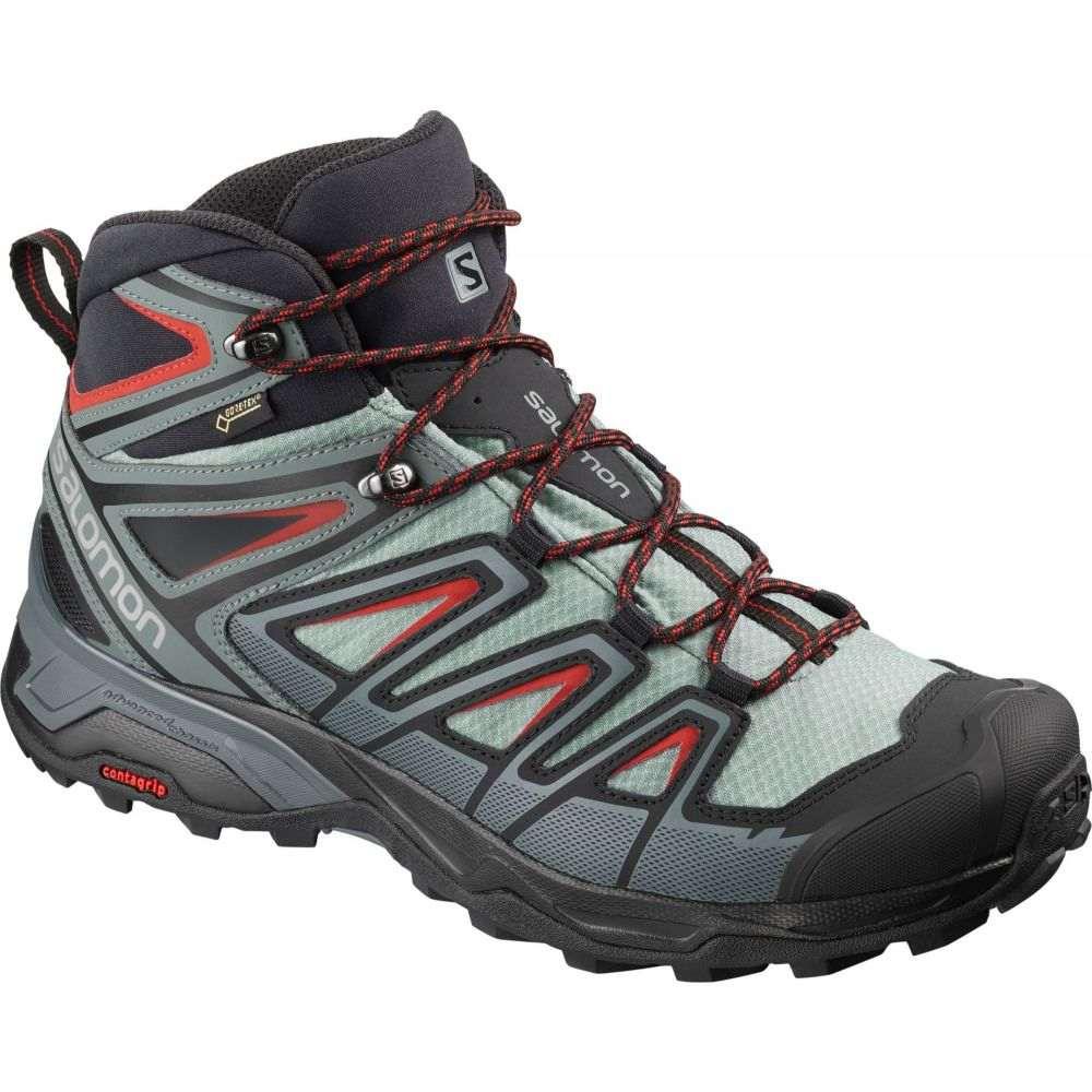 サロモン Salomon メンズ ハイキング・登山 シューズ・靴【X Ultra 3 Mid GTX Waterproof Hiking Boots】Lead