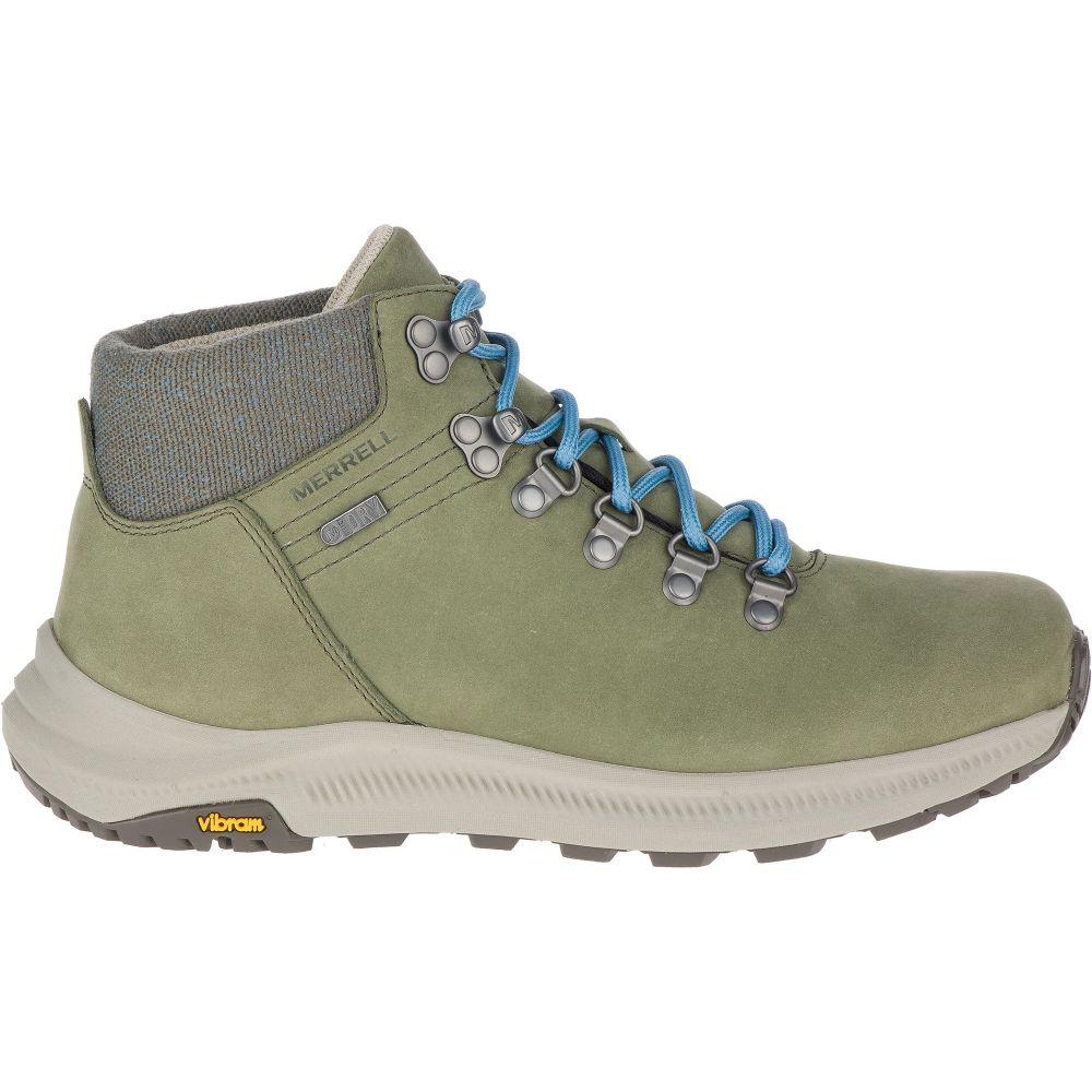 メレル Merrell レディース ハイキング・登山 ブーツ シューズ・靴【Ontario Mid Waterproof Hiking Boots】Lichen