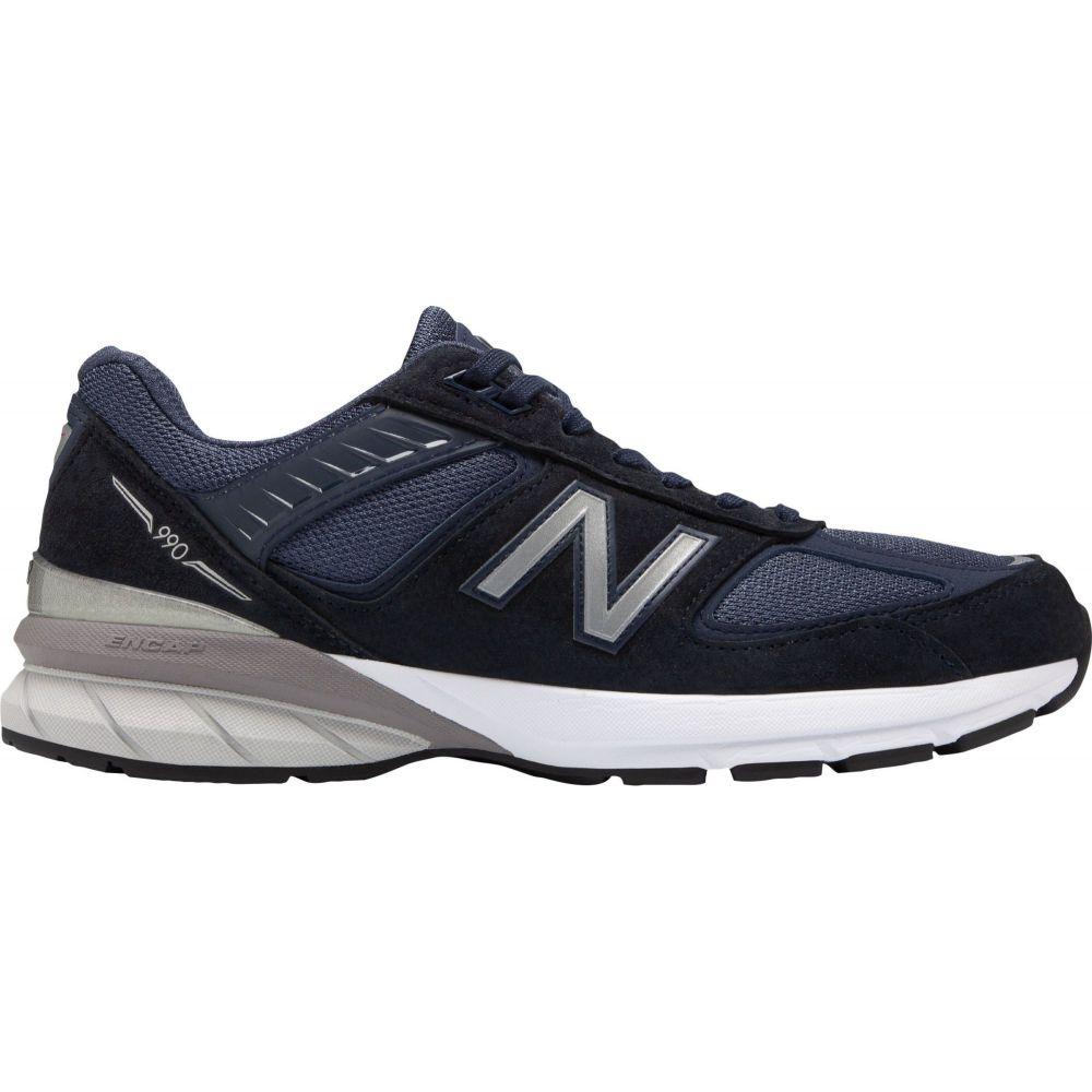 ニューバランス New Balance メンズ スニーカー シューズ・靴【M990V5 Shoes】Navy/Silver