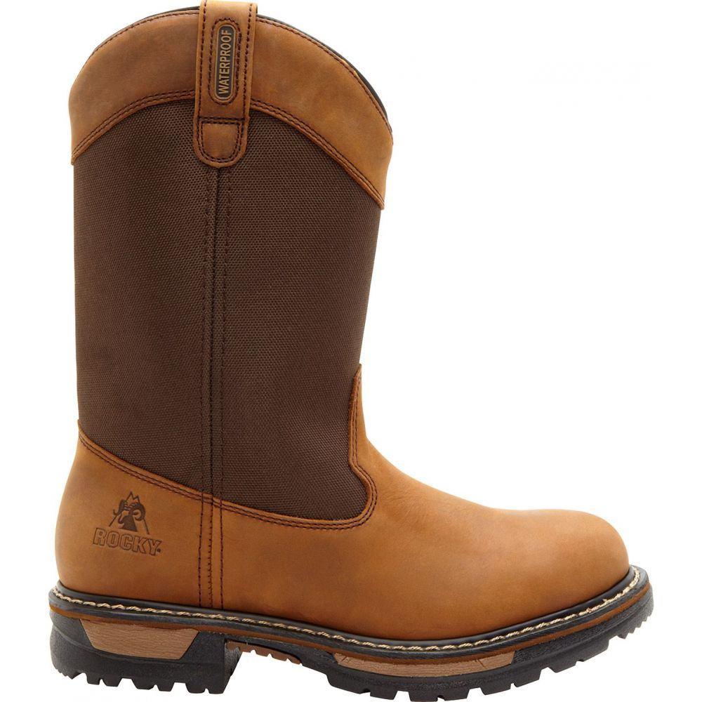 ロッキー Rocky メンズ ブーツ ウェリントンブーツ ワークブーツ シューズ・靴【Ride Waterproof 200g Wellington Work Boots】Brown