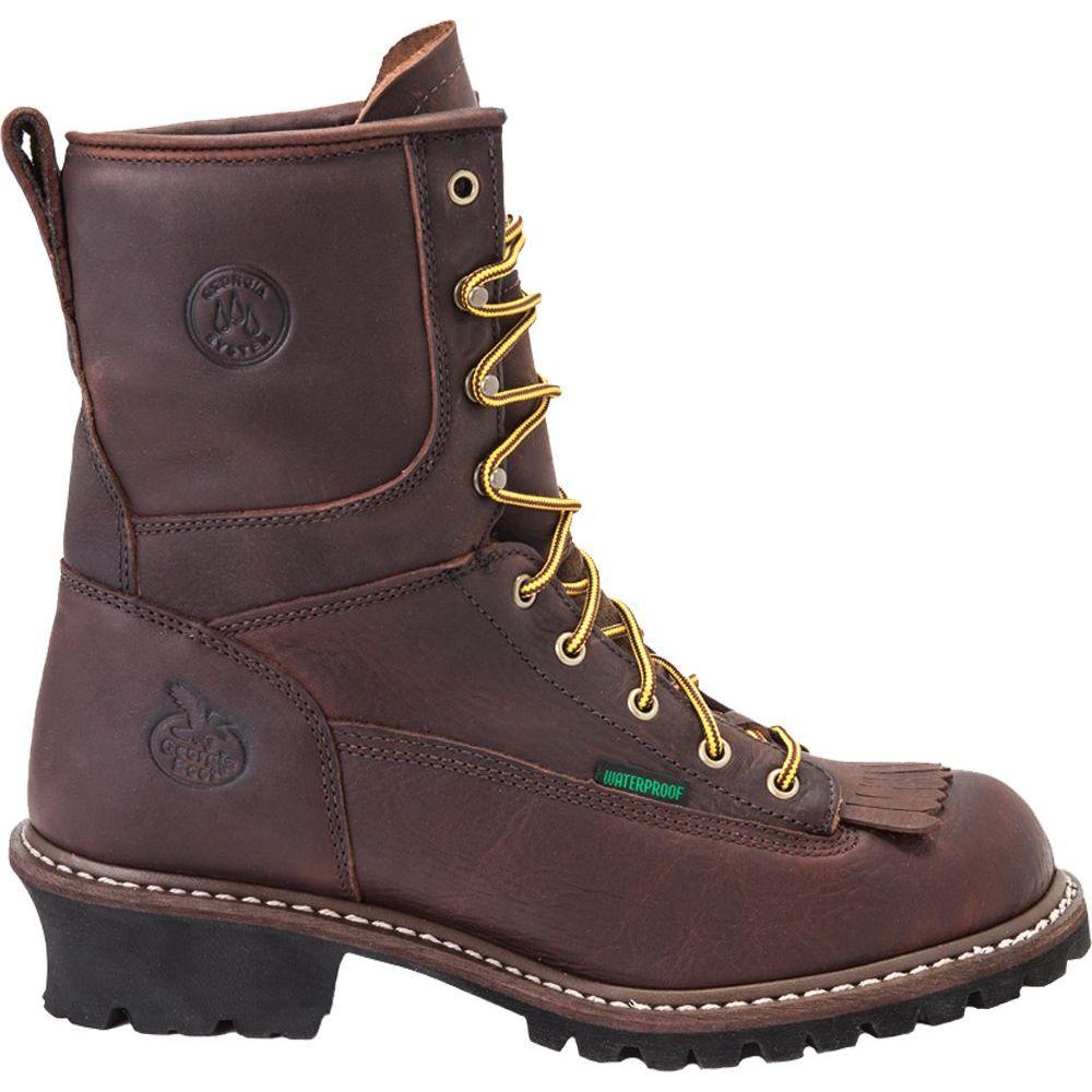 【期間限定お試し価格】 ジョージアブーツ Georgia Boots メンズ ブーツ ワークブーツ シューズ・靴【Georgia Boot Logger Waterproof 8