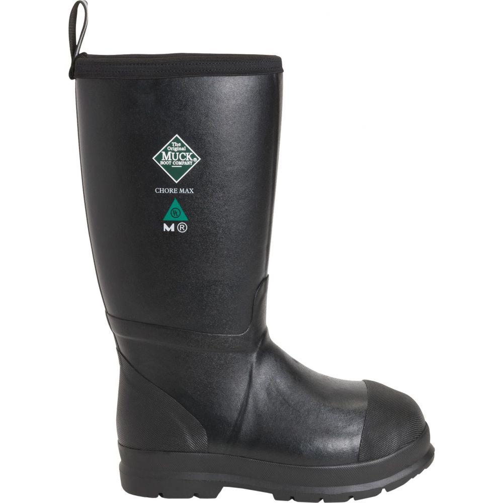 マックブーツ Muck Boots メンズ ブーツ ワークブーツ シューズ・靴【Chore Max Resistant Waterproof Composite Toe Work Boots】Black