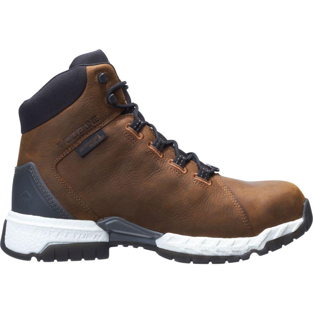 ウルヴァリン Wolverine メンズ ブーツ ワークブーツ シューズ・靴【I-90 Rush Waterproof Composite Toe Work Boots】Cafe