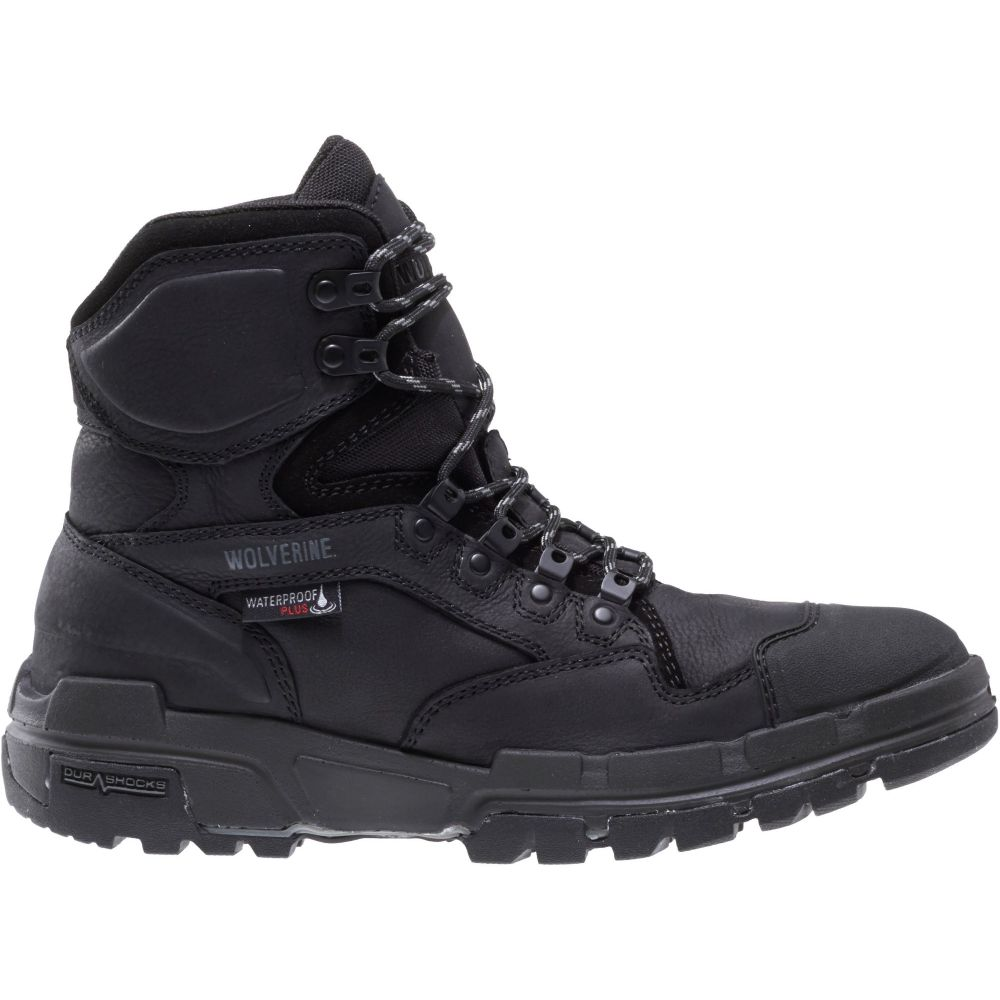 ウルヴァリン Wolverine メンズ ブーツ ワークブーツ シューズ・靴【Legend 6'' DuraShocks Waterproof Composite Toe Work Boots】Black