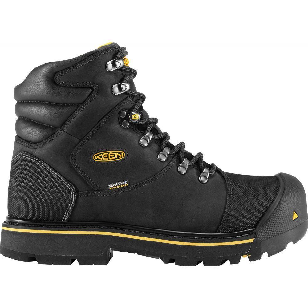 キーン Keen メンズ ブーツ ワークブーツ シューズ・靴【KEEN Milwaukee Waterproof Steel Toe Work Boots】Black