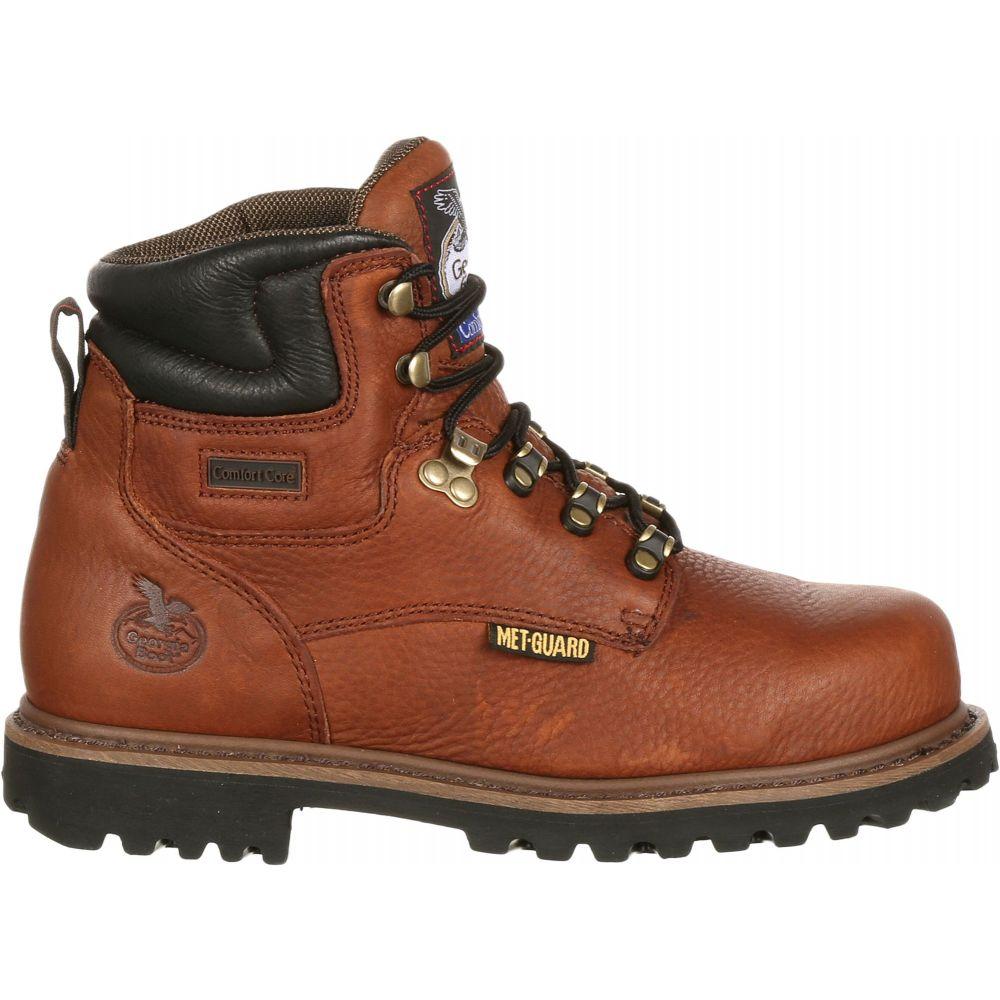 ジョージアブーツ Georgia Boots メンズ ブーツ ワークブーツ シューズ・靴【Georgia Boot Hammer Internal Metatarsal EH Steel Toe Work Boots】Brown