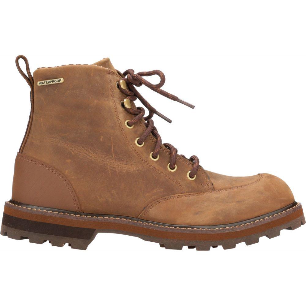 マックブーツ Muck Boots メンズ ブーツ ショートブーツ シューズ・靴【Foreman Leather Ankle Casual Boots】Brown