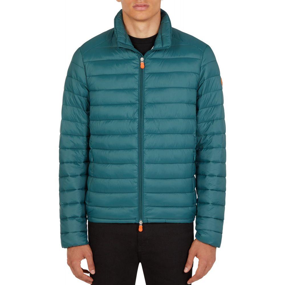 セイブ ザ ダック Save The Duck メンズ ダウン・中綿ジャケット アウター【Puffer Jacket】Alpine Green
