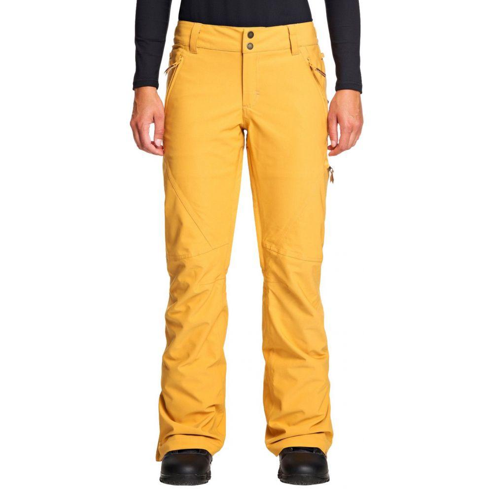 ロキシー Roxy レディース ボトムス・パンツ 【Cabin Snow Pants】Spruce Yellow