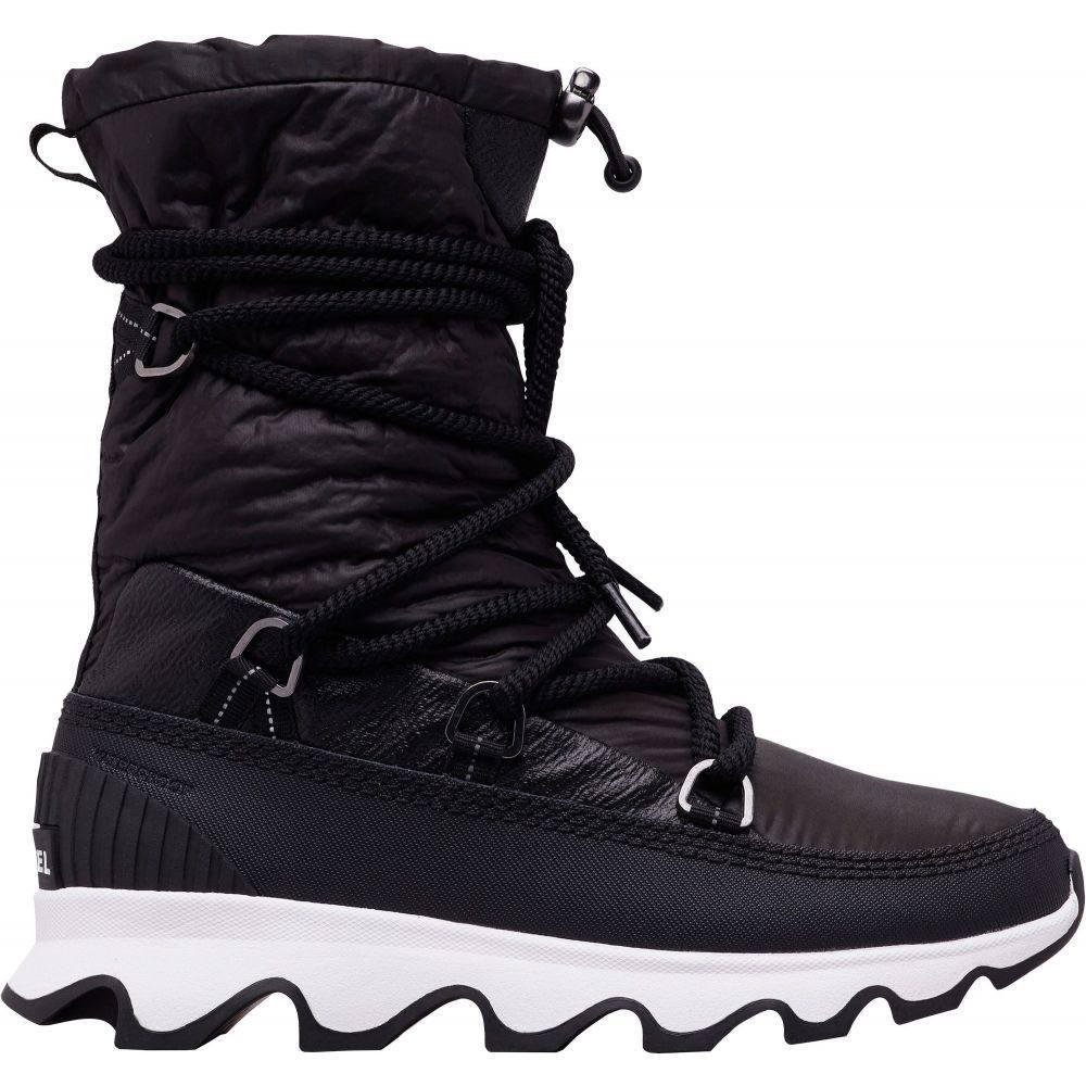 ソレル SOREL レディース ブーツ ウインターブーツ シューズ・靴【Kinetic 100g Waterproof Winter Boots】Black/White