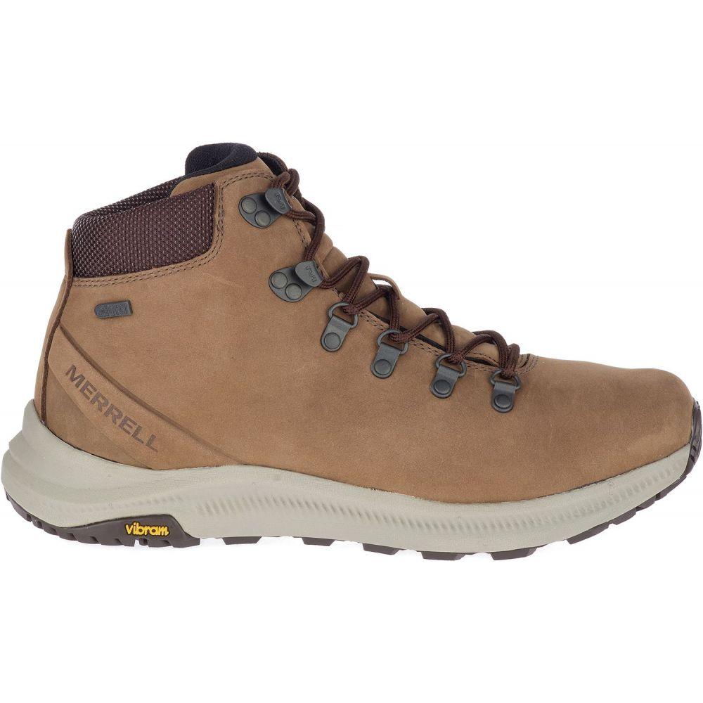 メレル Merrell メンズ ハイキング・登山 ブーツ シューズ・靴【Ontario Mid Waterproof Hiking Boots】Dark Earth