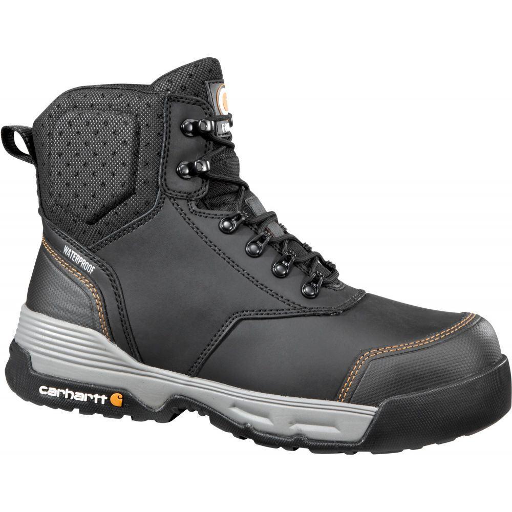 カーハート Carhartt メンズ ブーツ ワークブーツ シューズ・靴【Force 6'' Waterproof Composite Toe Work Boots】Black