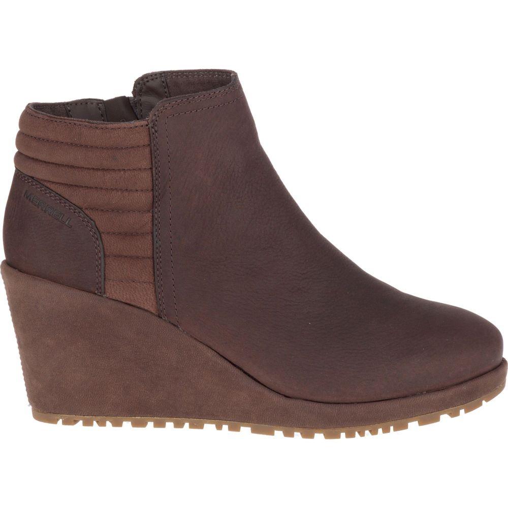 メレル Merrell レディース ブーツ ウェッジソール シューズ・靴【Tremblant Wedge Bluff Waterproof Boots】Espresso