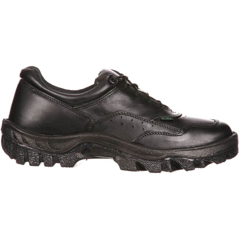 ロッキー Rocky メンズ シューズ・靴 【Oxford TMC Postal-Approved Work Shoes】Black