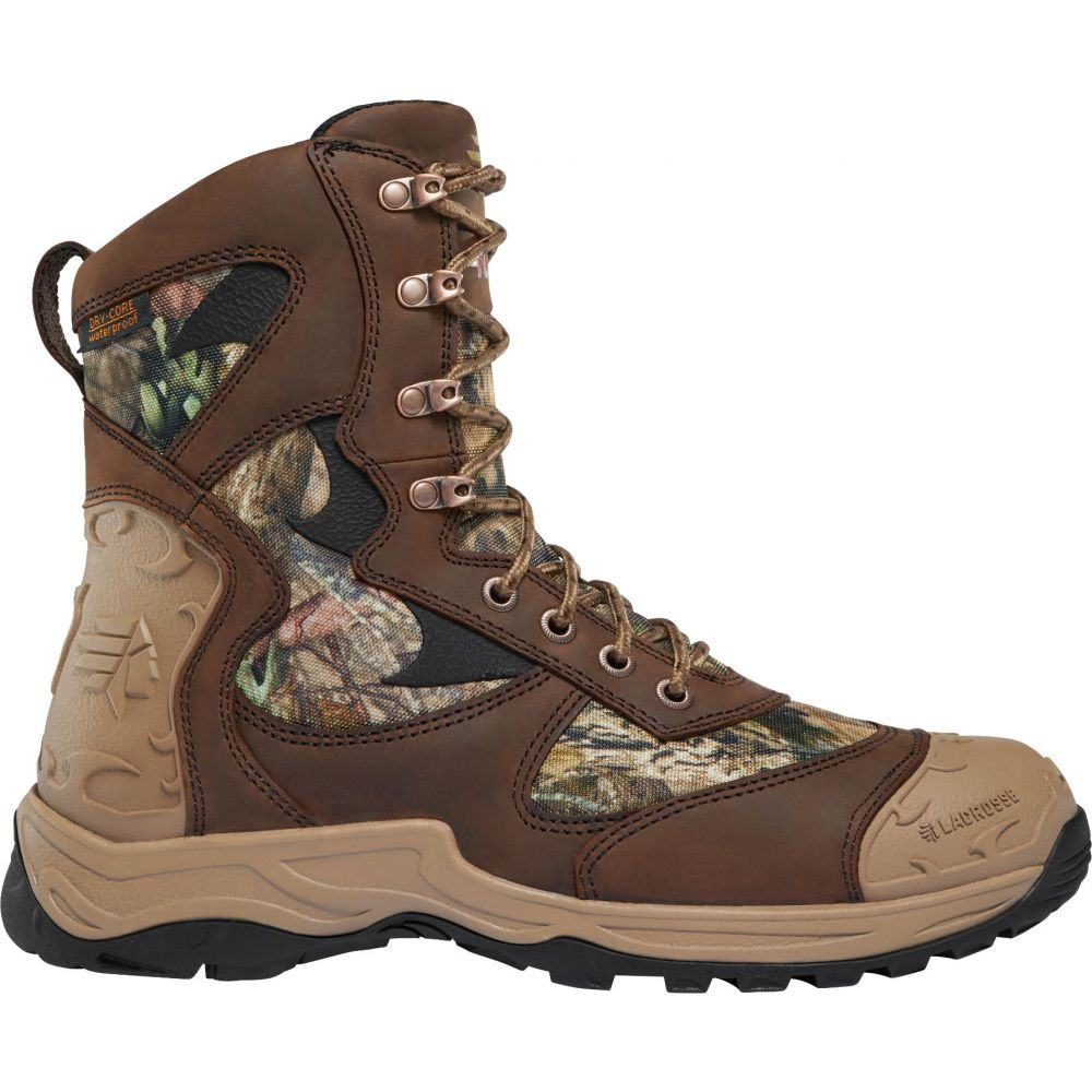 ラクロッセ LaCrosse メンズ 陸上 シューズ・靴【Atlas 8'' Mossy Oak Break-Up Country 400g Waterproof Hunting Boots】Mossy Oak Breakup Country