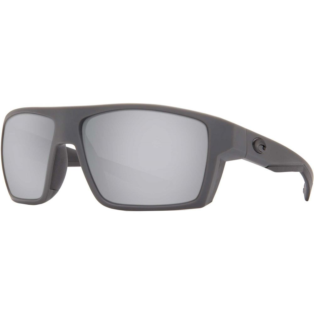 コスタデルメール Costa Del Mar メンズ メガネ・サングラス 【Bloke 580P Polarized Sunglasses】Gray/Black/Silver Mirror